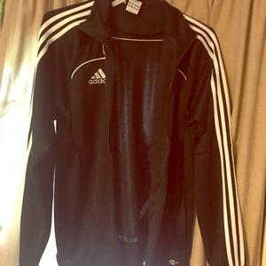 Black Adidas Soccer jacket